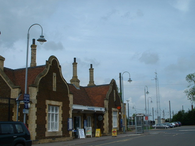 Downham Market railway station.