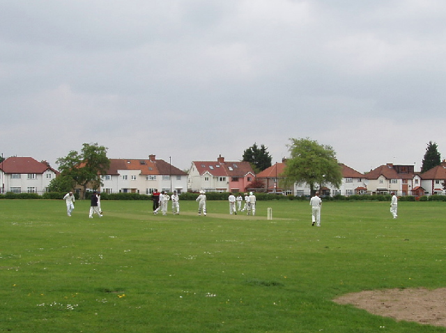 Sunday cricket, North Acton Recreation Ground
