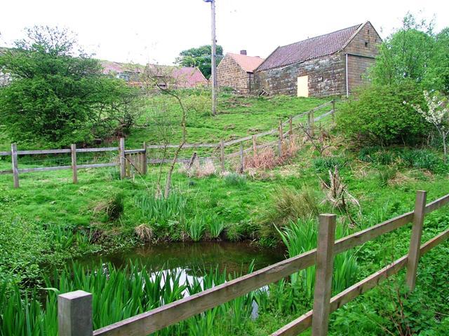 Barn with Yellow Door, High Bracken Mill