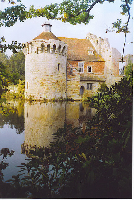 Scotney [Old] Castle Moat.