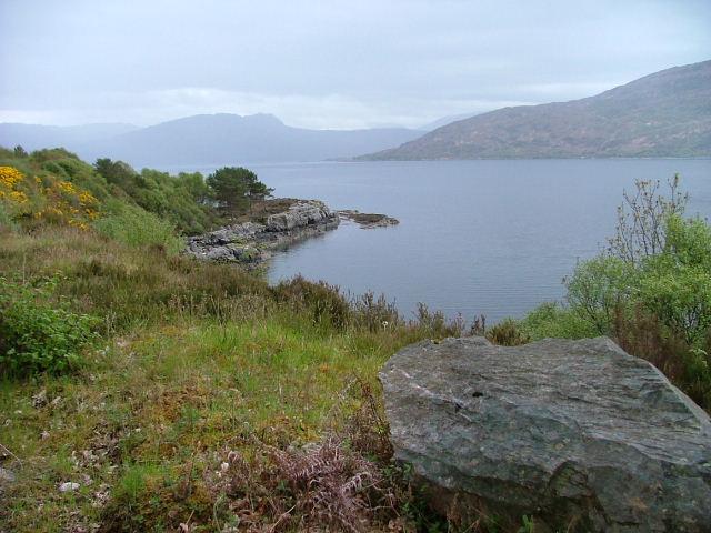 Headland on Loch Alsh