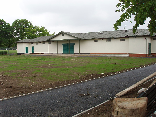 Pavilion, North Acton Playing Fields