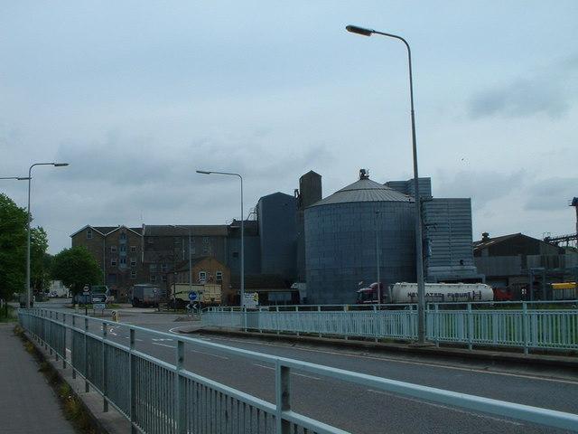 Heygates flour mill, Downham Market.