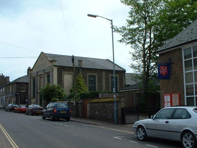 Religious building now disused, Downham Market.