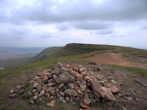 Twr y Fan Foel summit cairn