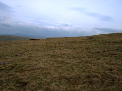 Remains of a stone circle