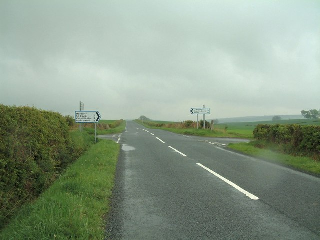 Madderty Cross roads