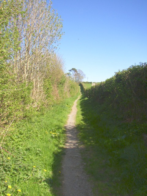 Footpath off The Square, Burton-in-Kendal