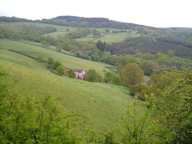 Cowley and the upper France Brook valley