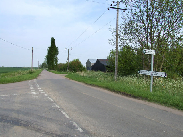 Country lanes in Bedfordshire.