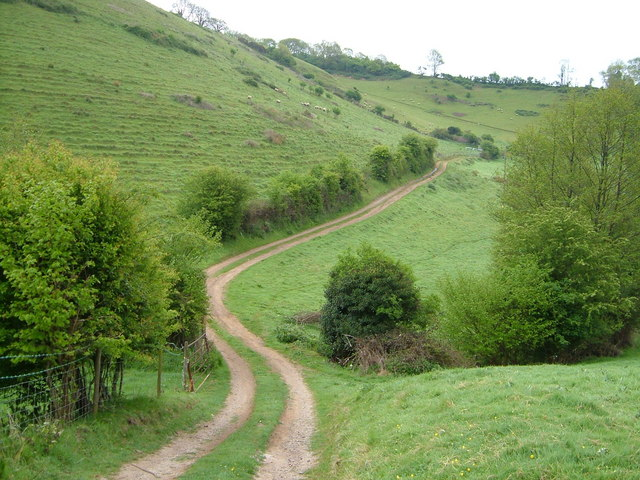 Track to Great Cleave Barn