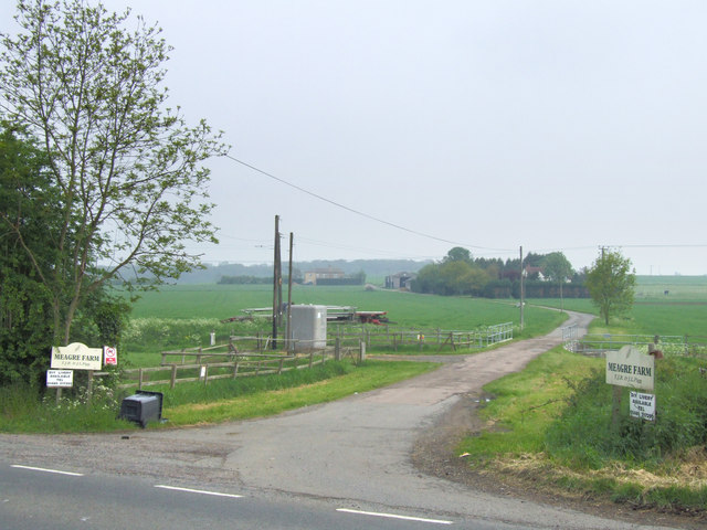 Driveway to Meagre Farm.