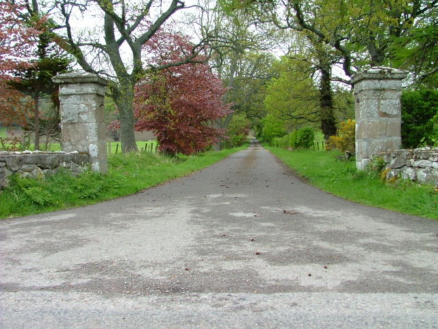 Driveway to Coulmore House