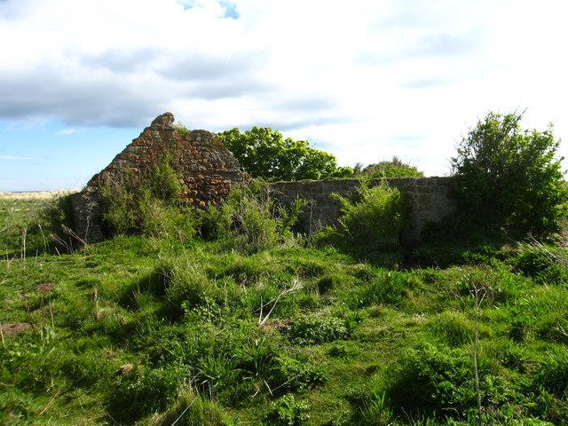 Ruin at Chapel Point, Skateraw