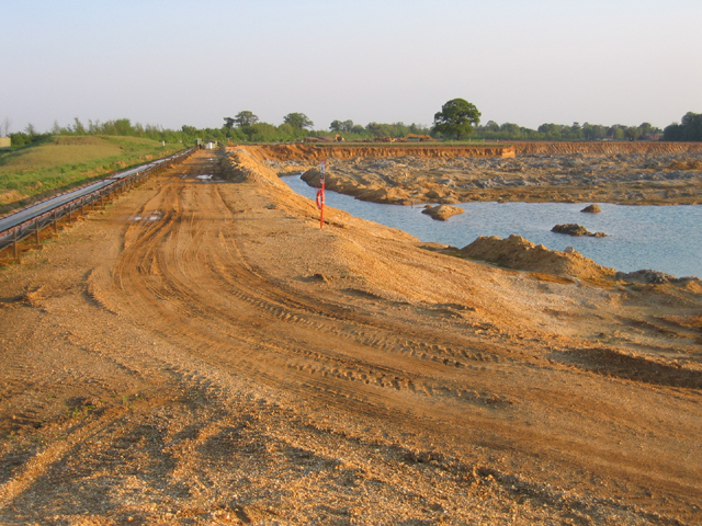 Sand and gravel pit, Old Warden, Beds