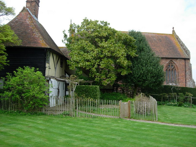 Small Hythe church and rectory