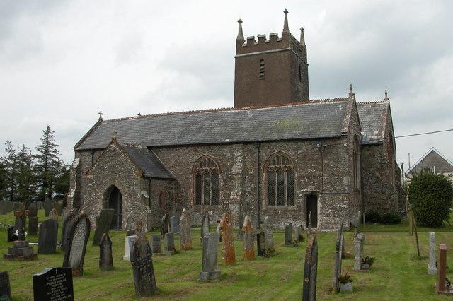 Ashreigney Church