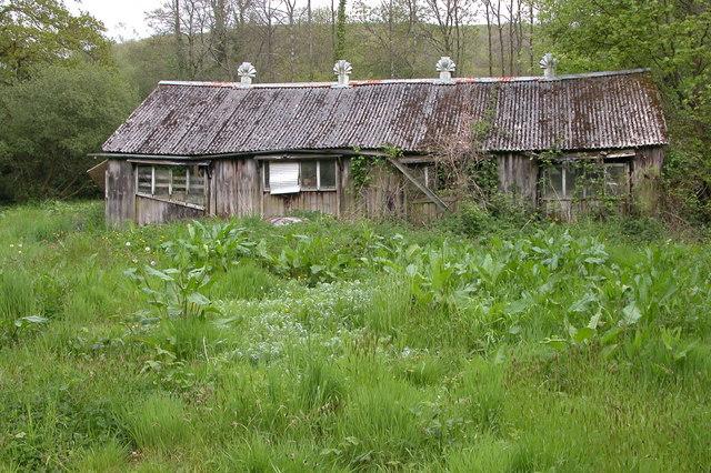 Old shed at Woodrow Bridge