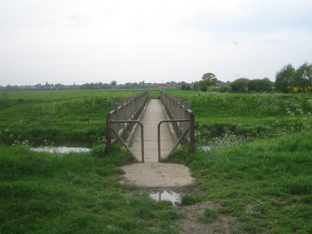 Footbridge over the Witham