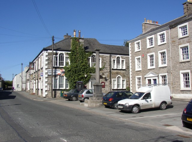 The Square, Burton-in-Kendal