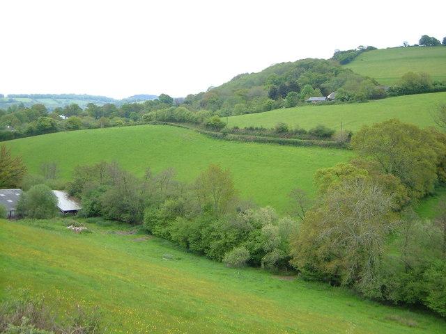 Woodah Farm and Batt's Brook valley