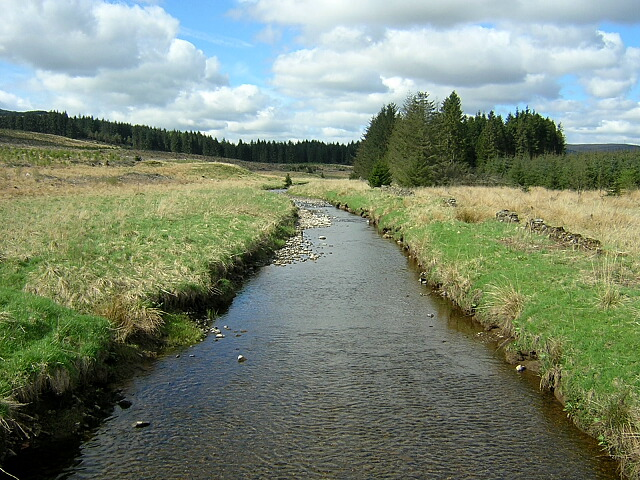 River Carron in Carron Valley Forest