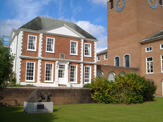Belair and County Hall, Exeter