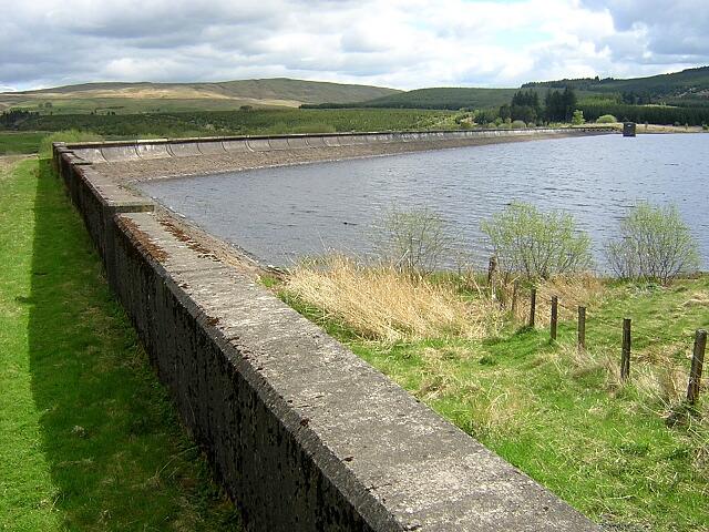 Carron Valley Reservoir Western Dam