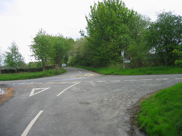 Crossroads near Slaley