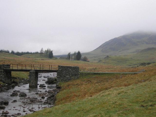 Bridge (Estate Road) over Allt Fearnach