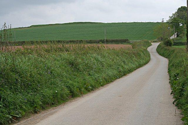 The Hillside north of Padderbury Top