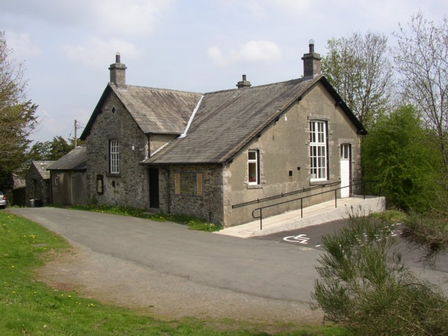 The former school, Cartmell Fell