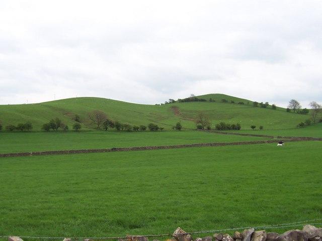 Hard Knott Hill and Blue Hill