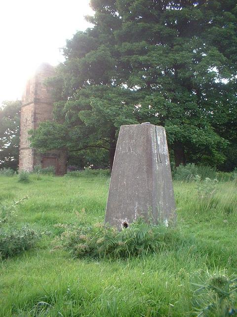 "Knowsley Trigpoint and ""The Stand"""