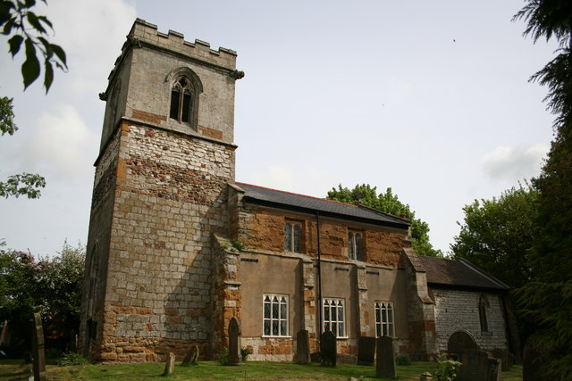 St.Helen's church, Brigsley, Lincs.