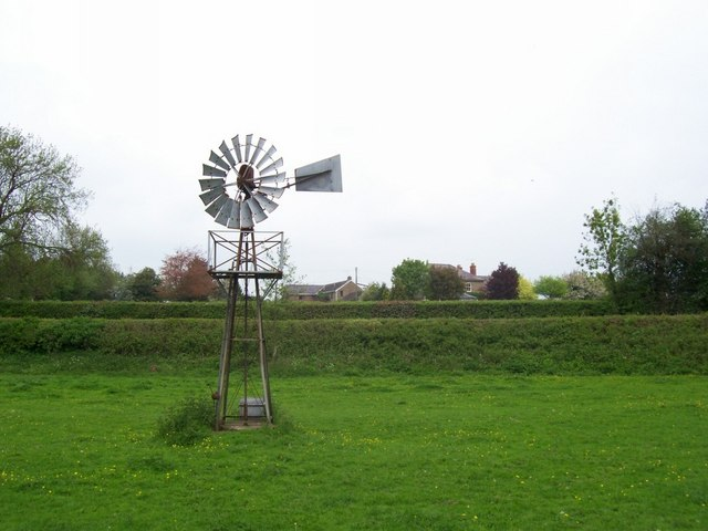 Windpump at Folly Farm