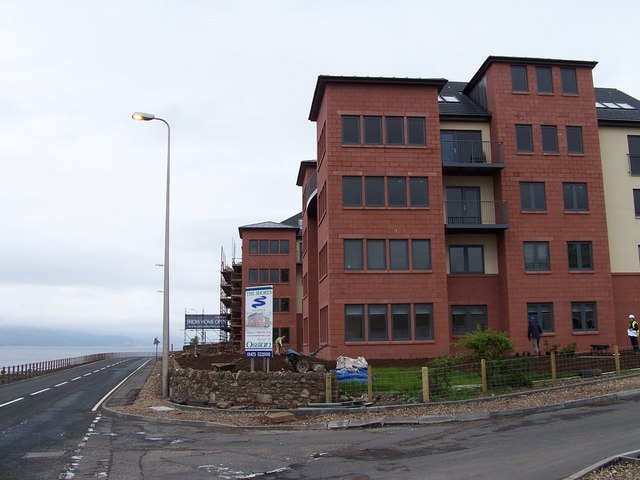 New flats, Skelmorlie