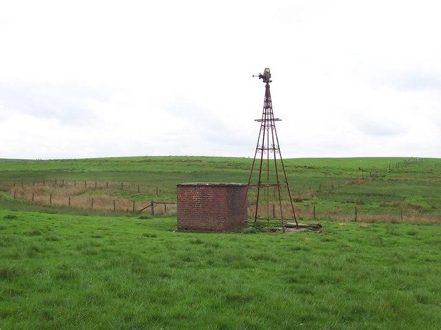 Disused Windpump, Swinden Moor