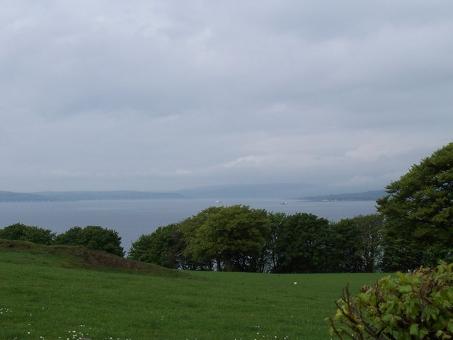 Farmland near Skelmorlie