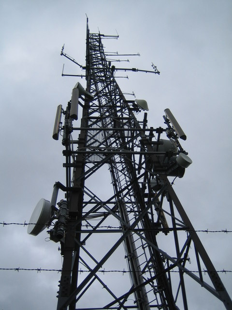 Radio Mast on Linton Hill