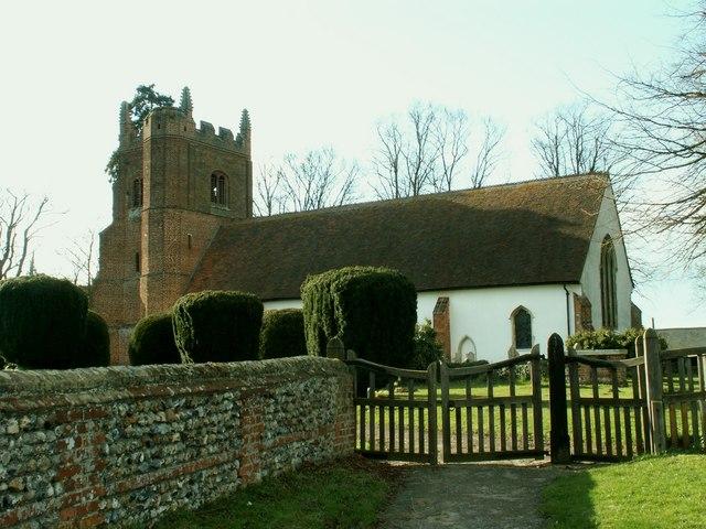 All Saints church, Wickham St. Paul, Essex