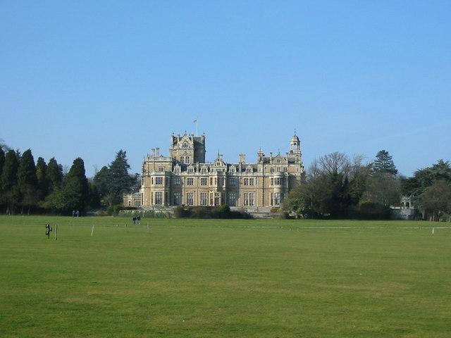Thoresby Hall and grounds