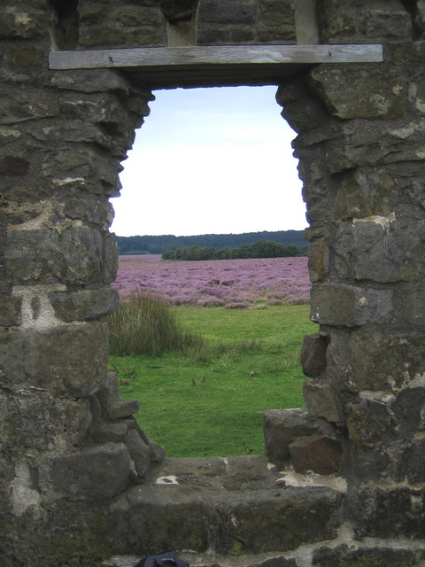 View looking out from Skelton Tower