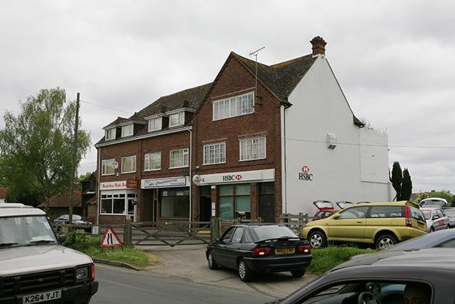 Shops on Brookley Road, Brockenhurst