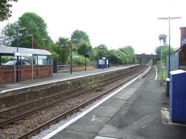 Dorking West Station