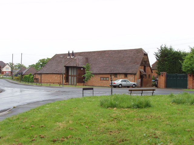 Converted barn at Lees Farm, Pyrford