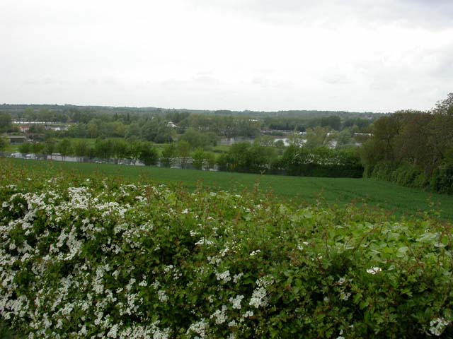 View towards the Nene Valley