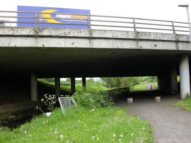 Cycleway and Walkway under the A45