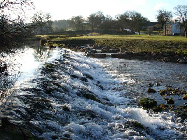 Weir at Maulds Meaburn