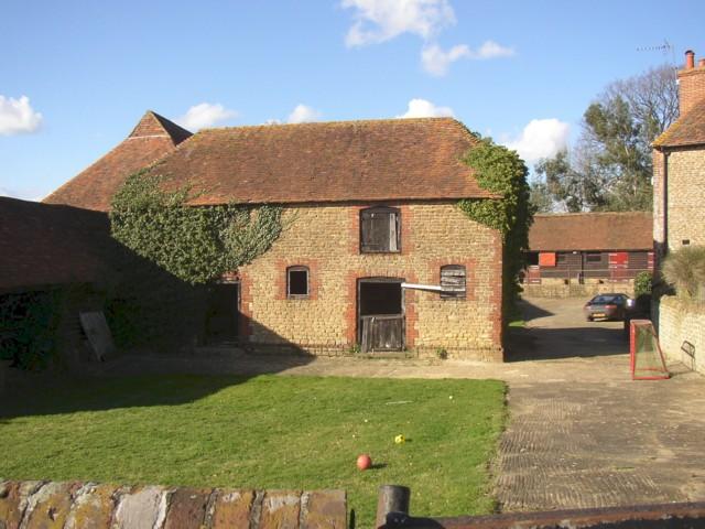 Farm building at Hydestile crossroads, Hambledon